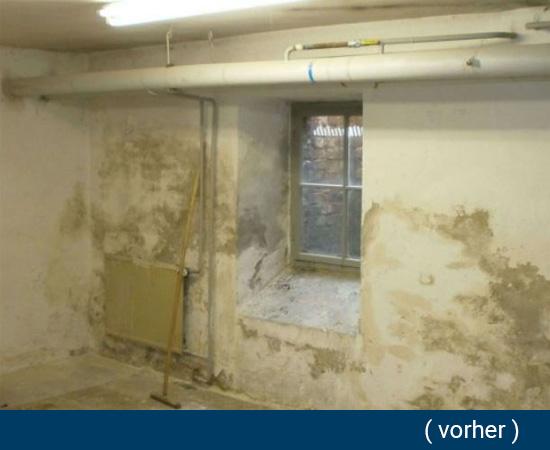 Feuchtigkeit im Keller in  Obrigheim