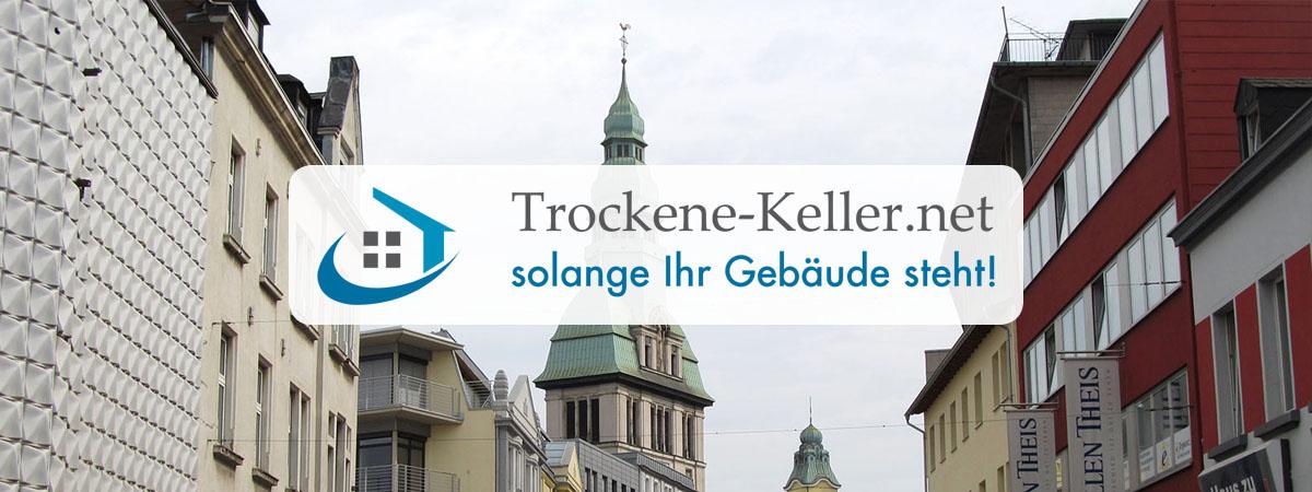 Schimmelsanierung Stuttgart - Trockene-Keller.net Gebäudeabdichtungssysteme